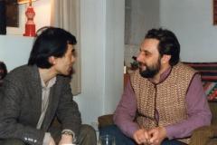 With Jo Kondo, circa 1987